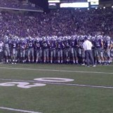 K-State Team leaving field