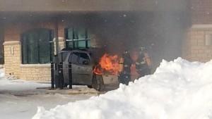 Car Fire at GPCU