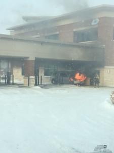 car fire at gpcu two
