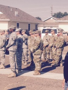 national guard dedication two