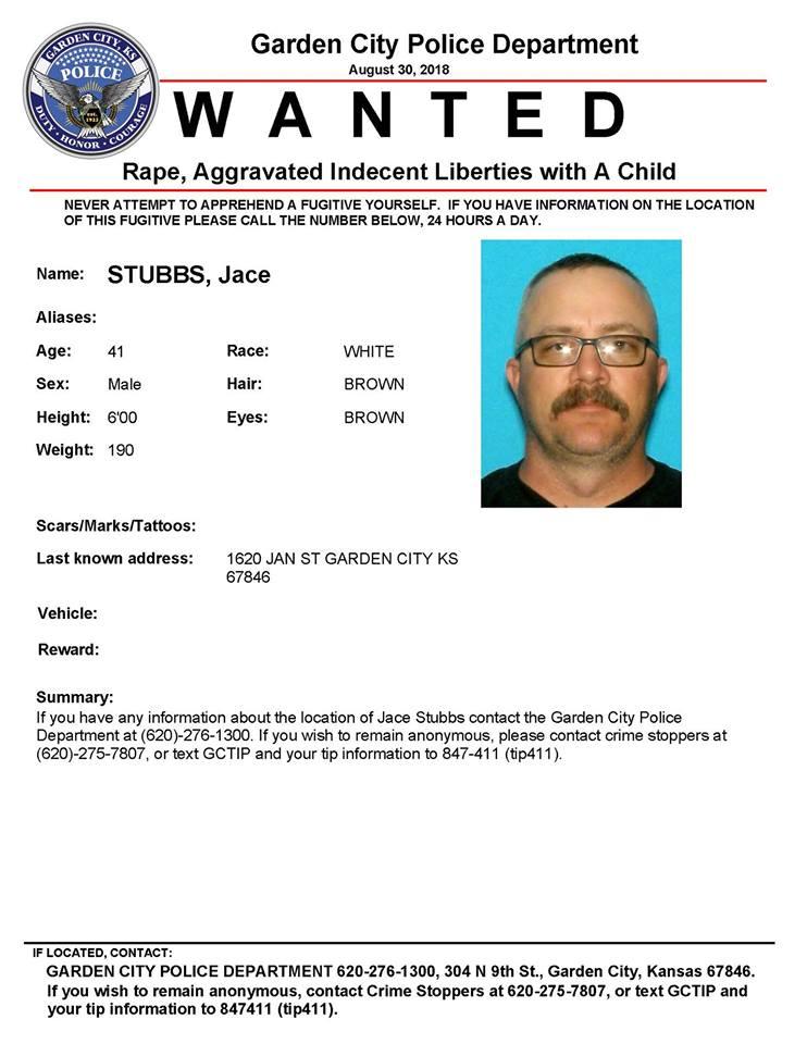 Garden City Police seeking public's help finding a suspect | Western Kansas News